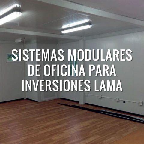 Sistemas Modulares de Oficina para Inversiones Lama